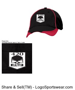 New Era - Contrast Piped BP Performance Cap Design Zoom